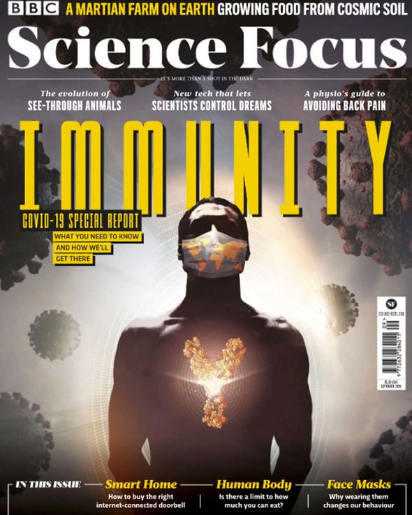 The interview features in next month's Science Focus Magazine