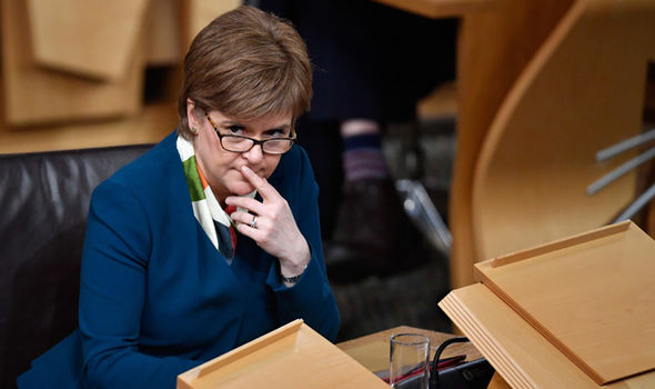 The news comes amid rumours SNP leader Nicola Sturgeon could be plotting another Scottish referendum