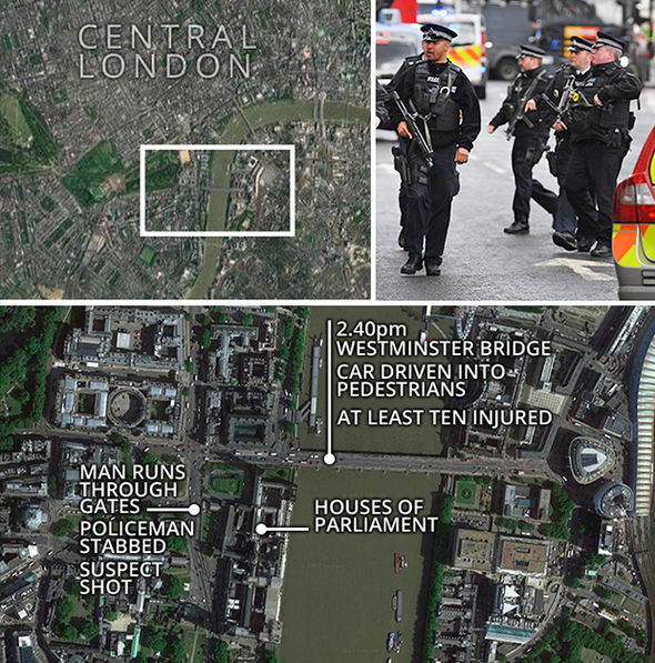 The path of the London attacker