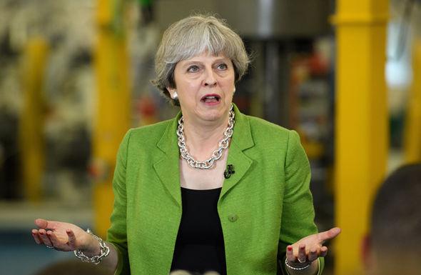 Theresa May BBc election debate