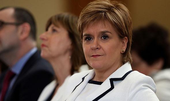 Theresa May Nicola Sturgeon SNP Brexit election