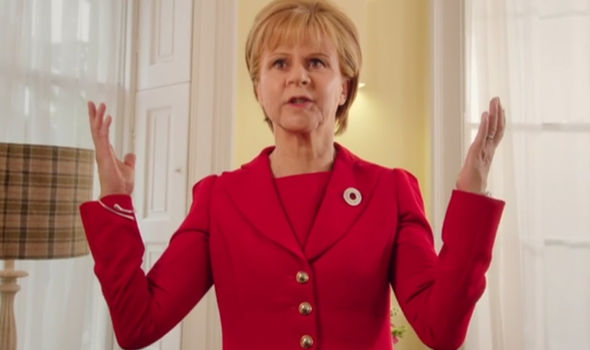 Tracey Ullman as Nicola Sturgeon
