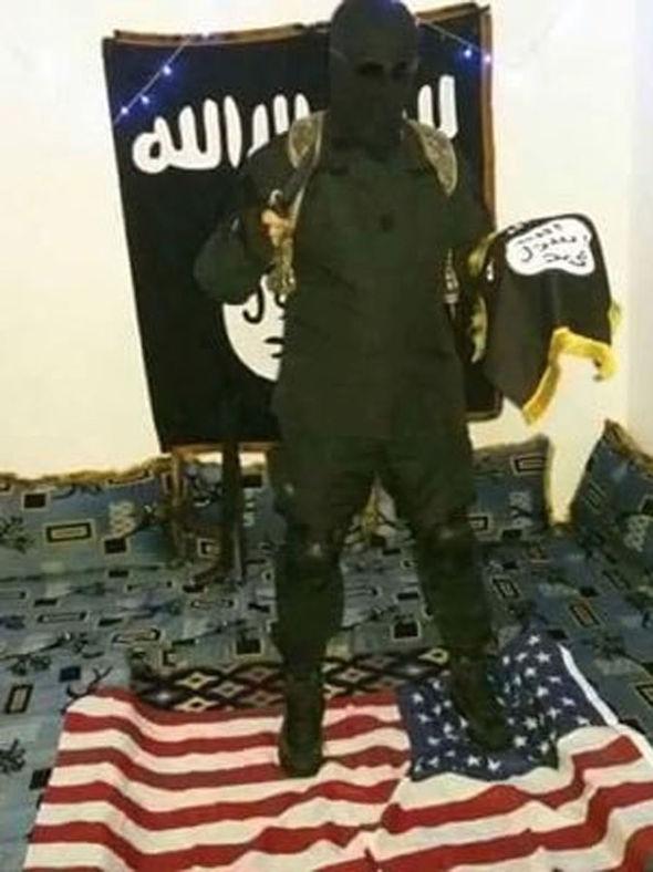 Jihadis often pose on Twitter