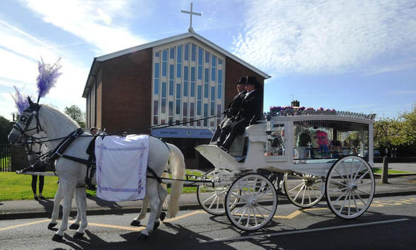 Violet-Grace Youens funeral