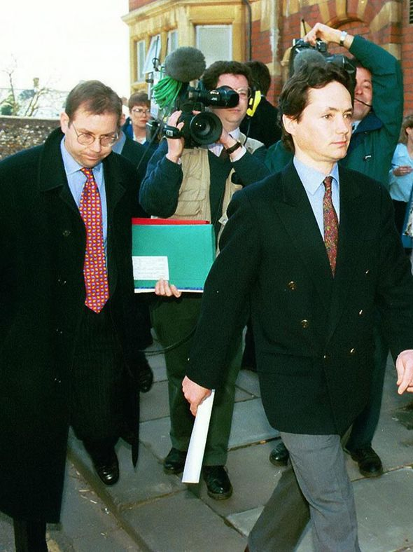 Wilburn pictured in 1997, a year after his fall in Hong Kong which almost killed him
