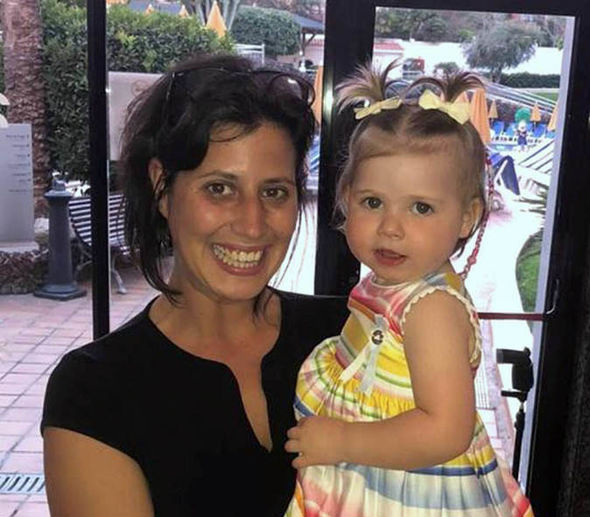 Presley Marshall with Alessia in Tenerife