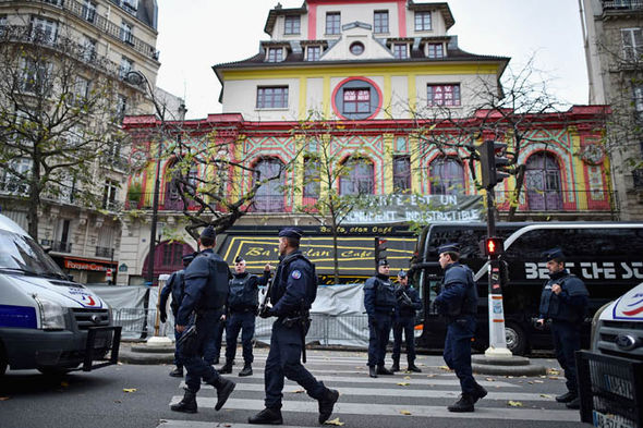 bataclan massacre paris france terror