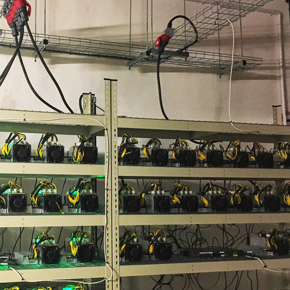 Bitcoin mining hardware in London