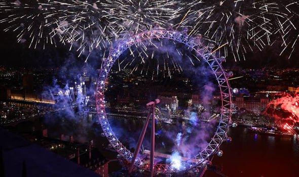 brexit news Sadiq Khan london nye fireworks london eye 2019
