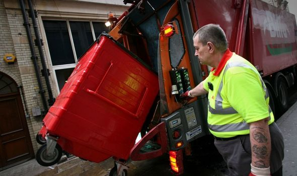 delayed bin collections