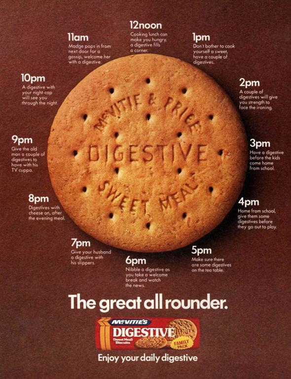 McVitie's digestive biscuit poster