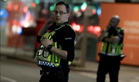 london terror attack police