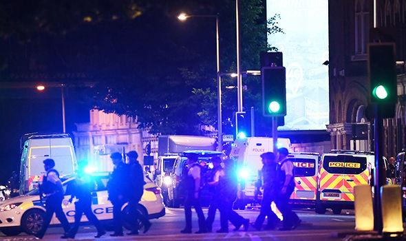 london terror police sirens