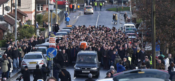 martin mcguinness funeral tributes
