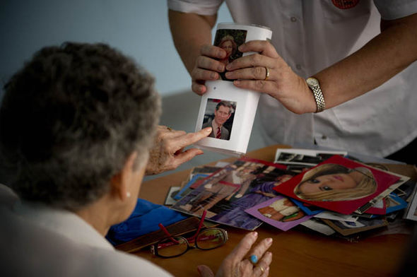 A patient is tested for Alzheimers