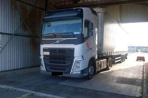 Vasile-Viorel Grosu's lorry