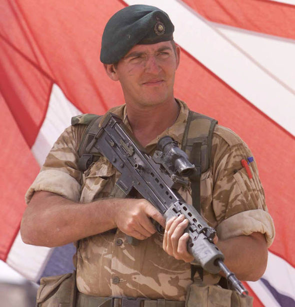 royal marine a alexander blackman