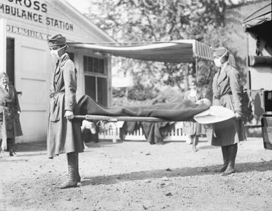 Returning soldiers brought Spanish Flu to the UK