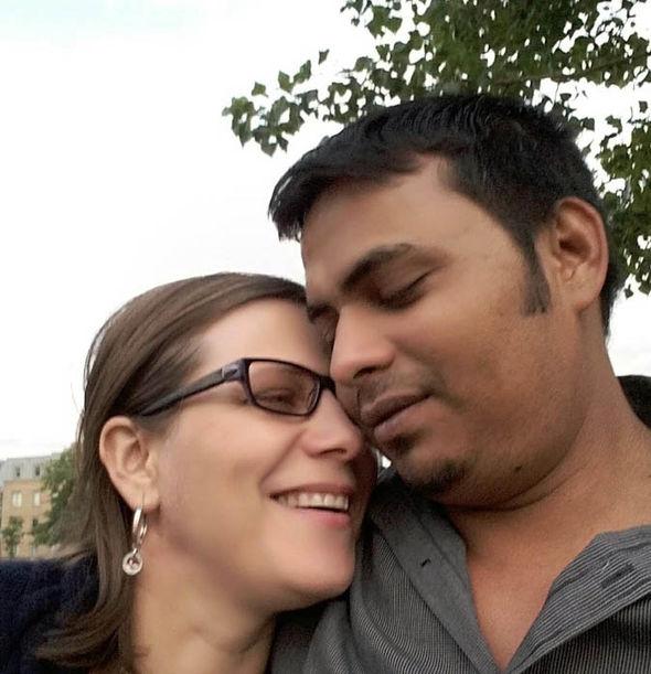 Bidhya Sagar Das with Cristinela Datcu
