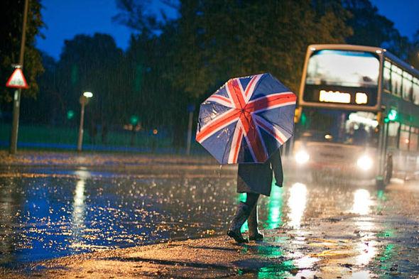 Rain in UK