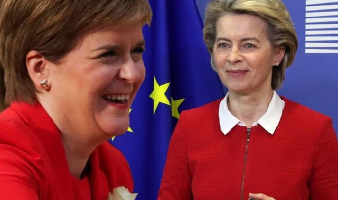 EU 'will' allow Sturgeon's independent Scotland in: 'This is nothing like Catalonia'