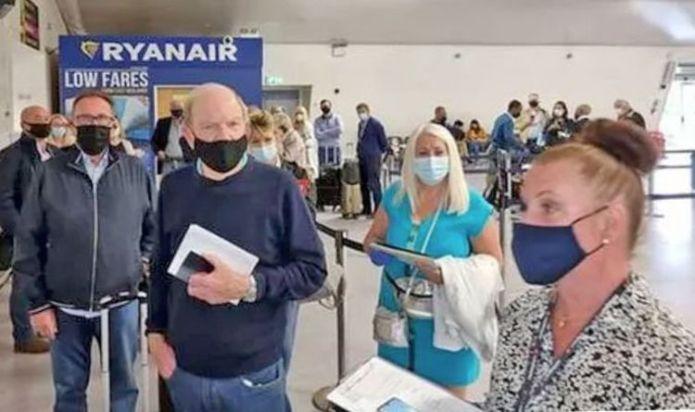 Ryanair passengers 'in tears' as 31 people are turned away from flight to Spain