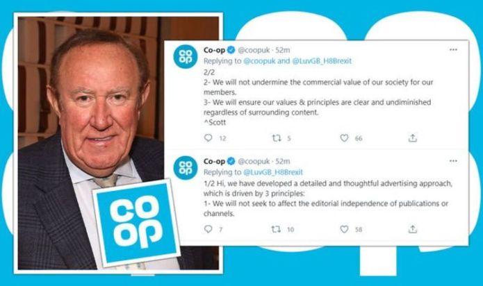 Co-op silences woke mob as it hits back at GB News boycott demands with brilliant tweet