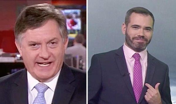BBC News: Presenter Simon McCoy blames shocked colleague ...
