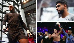 Boxing News Anthony Joshua Amir Khan