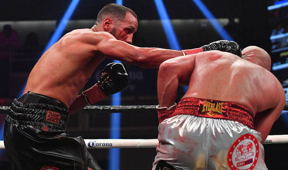 James DeGale shoulder injury