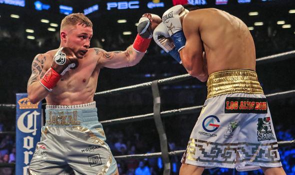 Carl Frampton beats Leo Santa Cruz
