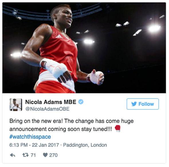 Nicola Adams boxer