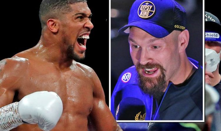 Anthony Joshua and Tyson Fury sign two-fight deal as Eddie Hearn confirms agreement