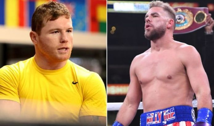 Billy Joe Saunders vs Canelo Alvarez fight OFF claims Tom Saunders after ring size feud