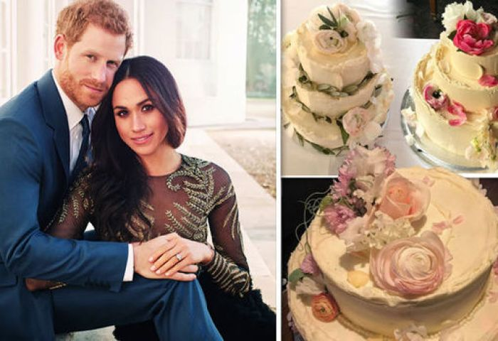 Royal Wedding Cake Pictures Show What Meghan Markle And Harrys