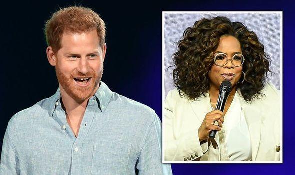 prince harry news oprah winfrey series mental health apple tv royal family news