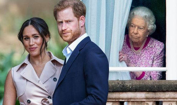 prince harry news queen royal family meghan markle
