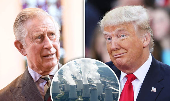 Prince Charles and Donald Trump