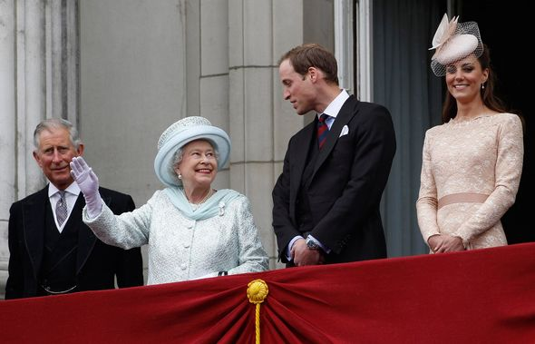 Queen at the 2012 Diamond Jubilee