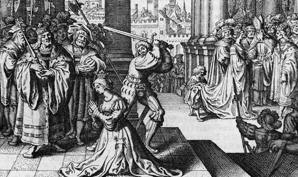 Anne was brutally executed herself in 1536 - four years before Cromwell