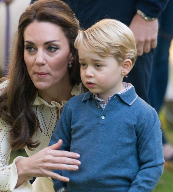 Prince George and Kate