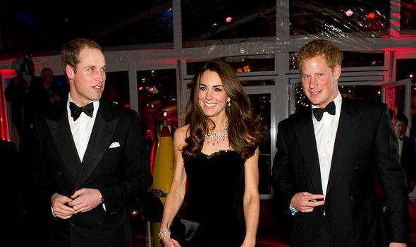 Kate, William and Harry used to carry out many royal engagements together