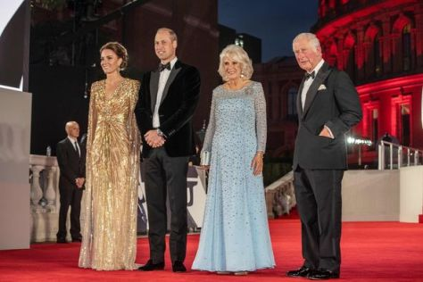 Kate Middleton, Prince William, Camilla and Prince Charles