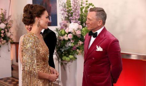 Kate Middleton with Daniel Craig