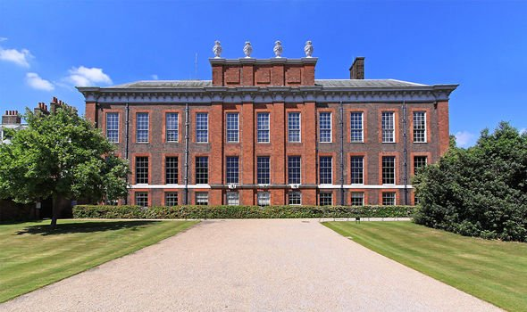 Kensington Palace: Meghan and Harry stayed within the palace grounds for a short while