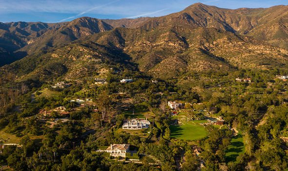 Montecito: The pair live in a gated community in the exclusive area of California
