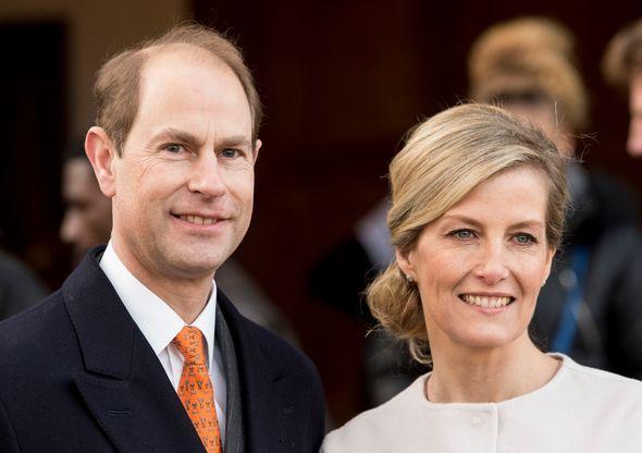 Prince Edward Sophie Wessex
