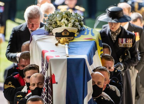 Prince Philip was buried last month