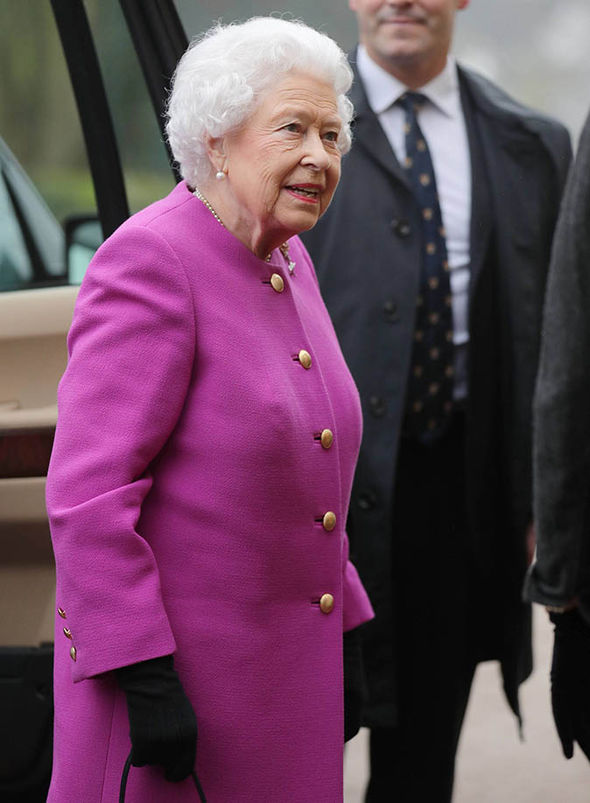 Queen at Women's Institute meeting