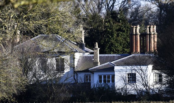 The couple moved into Frogmore Cottage in 2018